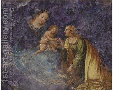 The Mystic Marriage of Saint Catherine by (after) Hendrik Van Balen, I - Reproduction Oil Painting