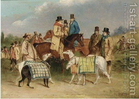Before the course; and Releasing the hare by (after) Henry Alken - Reproduction Oil Painting