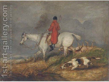 On the scent by (after) Henry Alken - Reproduction Oil Painting