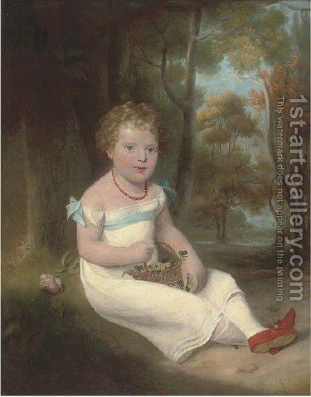 Portrait of Alexander Cameron by (after) Sir Henry Raeburn - Reproduction Oil Painting