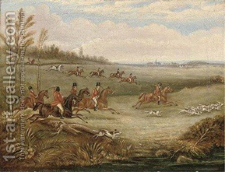 The Melton Hunt by (after) Henry Thomas Alken - Reproduction Oil Painting