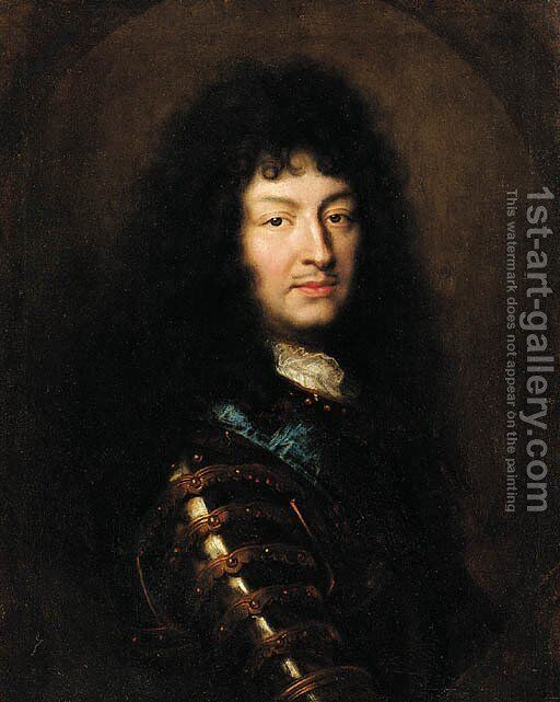 a593ea05c10 Portrait of King Louis XIV Painting by (after) Hyacinthe Rigaud ...
