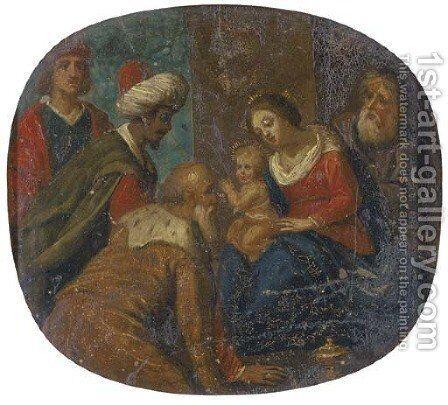 The Adoration of the Magi by (after) Jan Van Balen - Reproduction Oil Painting