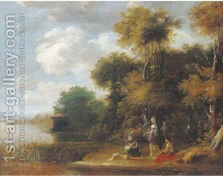 The Finding of Moses by (after) Jasper Van Der Lanen - Reproduction Oil Painting