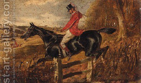 Over The Gate by (after) Of John Alfred Wheeler - Reproduction Oil Painting