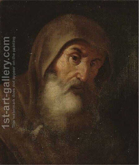 A monk by (after) Jusepe De Ribera - Reproduction Oil Painting