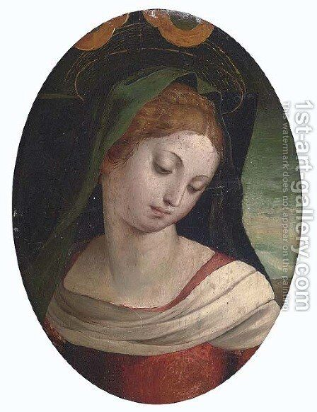 The Madonna by (after) Luca Penni - Reproduction Oil Painting