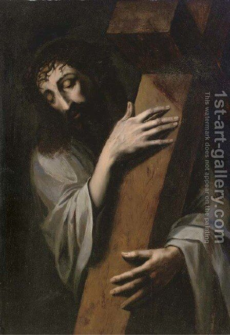 Christ carrying the Cross by (after) Luis De Morales - Reproduction Oil Painting
