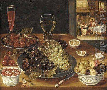 Fruits by (after) Osias, The Elder Beert - Reproduction Oil Painting
