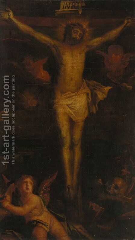 The Crucifixion by (after) Philippe De Champaigne - Reproduction Oil Painting