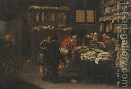 Rent Day by (after) Pieter The Younger Brueghel - Reproduction Oil Painting