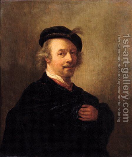 Portrait of the artist by (after) Rembrandt Van Rijn - Reproduction Oil Painting