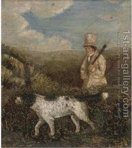 Pointing the way by (after) Samuel John Egbert Jones - Reproduction Oil Painting