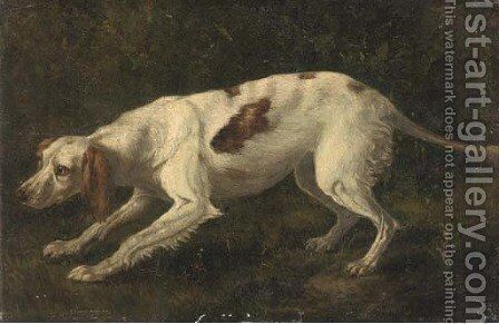 A pointer by (after) Sawrey Gilpin - Reproduction Oil Painting