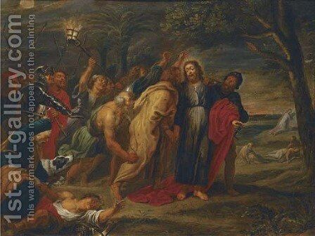 The Arrest of Christ by (after) Dyck, Sir Anthony van - Reproduction Oil Painting