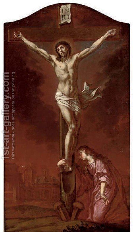 The Crucifixion 2 by (after) Dyck, Sir Anthony van - Reproduction Oil Painting