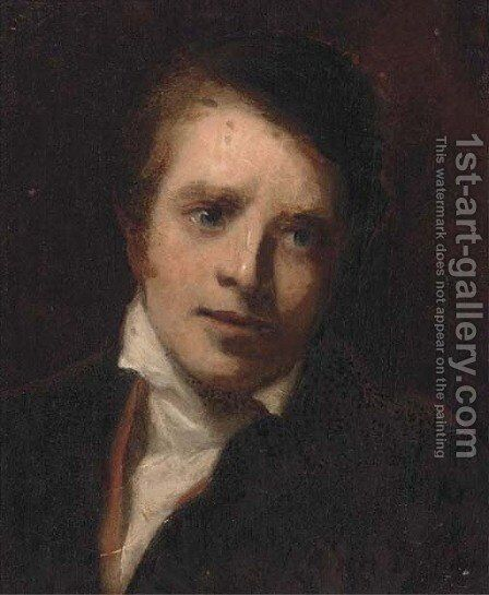 Portrait of a Dr William Graham by (after) Sir David Wilkie - Reproduction Oil Painting