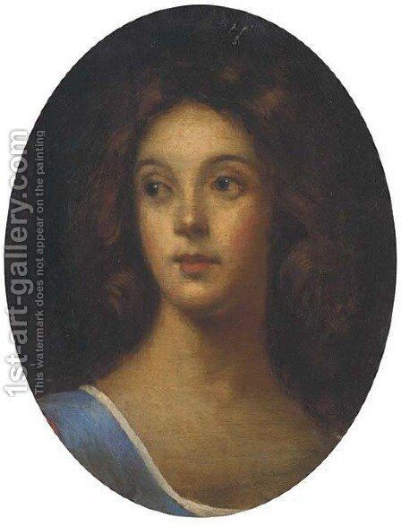 A sibyl by (after) Kneller, Sir Godfrey - Reproduction Oil Painting