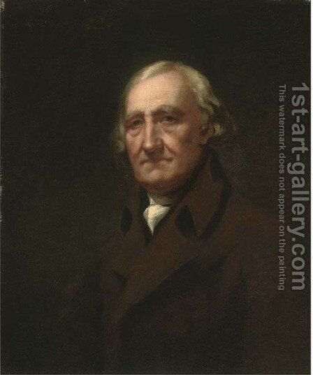 Portrait of James Wardrop of Torbanehill by (after) Sir Henry Raeburn - Reproduction Oil Painting
