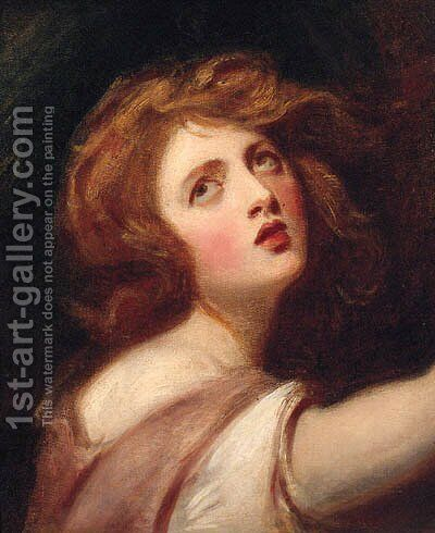 Thais by (after) Of Sir Joshua Reynolds - Reproduction Oil Painting