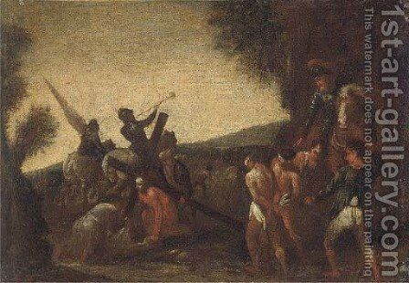Christ on the Road to Calvary by (after) Tiziano Vecellio (Titian) - Reproduction Oil Painting