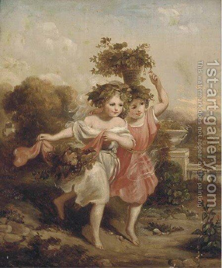 The young baccantes by (after) William Edward Frost - Reproduction Oil Painting