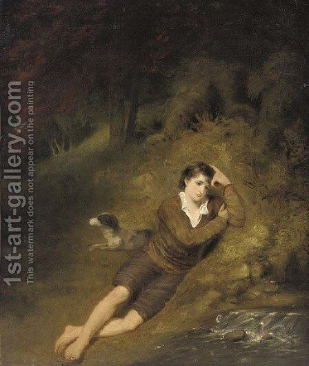 Daydreams by (after) William Mulready - Reproduction Oil Painting