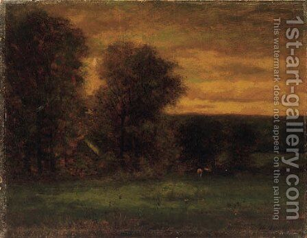 Untitled by George Inness - Reproduction Oil Painting