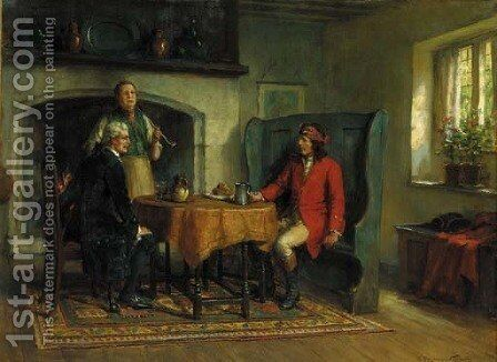 The adventurer by Georges Sheridan Knowles - Reproduction Oil Painting