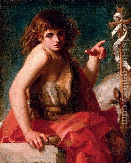 Saint John the Baptist by Giovanni Baglione - Reproduction Oil Painting