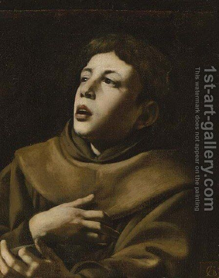 Saint Anthony of Padua by Giovanni Battista Caracciolo - Reproduction Oil Painting