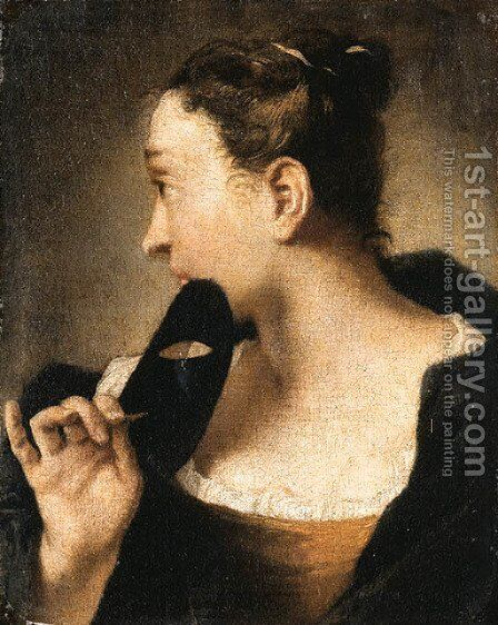 Untitled 3 by Giovanni Battista Piazzetta - Reproduction Oil Painting