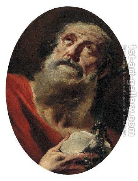 Saint Jerome by Giovanni Battista Tiepolo - Reproduction Oil Painting