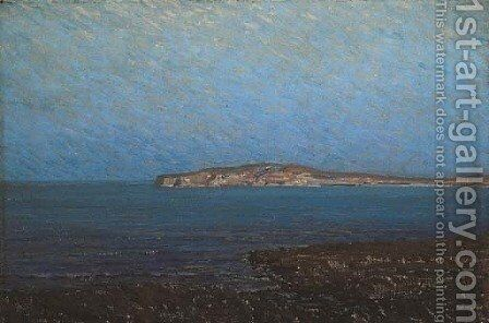 Coyote Point by Granville Redmond - Reproduction Oil Painting