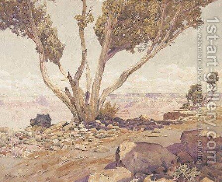 Grand Canyon 2 by Gunnar Mauritz Widforss - Reproduction Oil Painting
