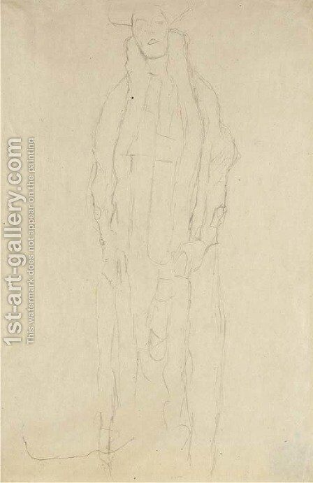 Adele Bloch-Bauer by Gustav Klimt - Reproduction Oil Painting