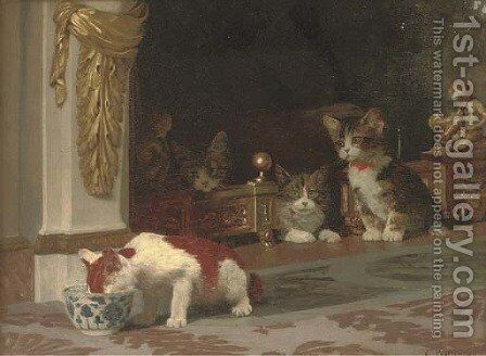 Apprehension by Gustave Bettinger - Reproduction Oil Painting