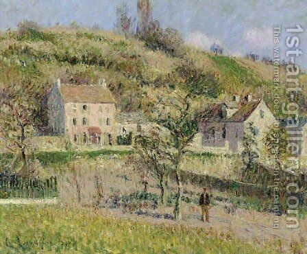 Coteau de Chapouval by Gustave Loiseau - Reproduction Oil Painting