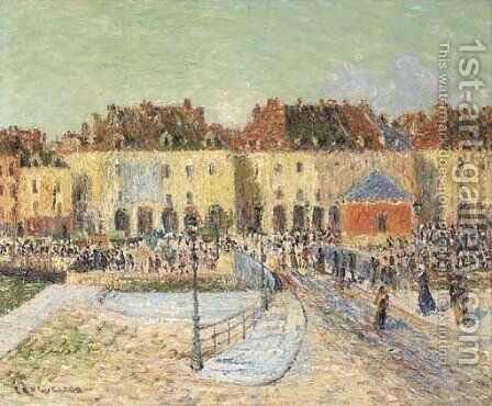 Dieppe by Gustave Loiseau - Reproduction Oil Painting