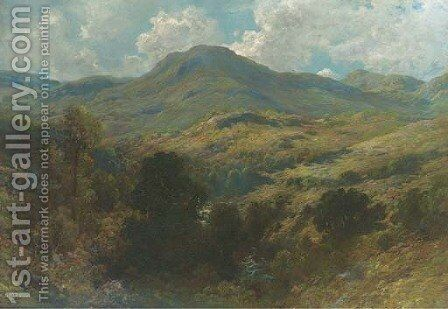 Montagne d'Ecosse by Gustave Dore - Reproduction Oil Painting