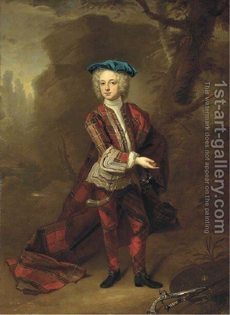 Portrait of Thomas Osborne by Hans Hysing - Reproduction Oil Painting