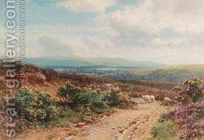 A view near Midhurst, Sussex by Harry Sutton Palmer - Reproduction Oil Painting