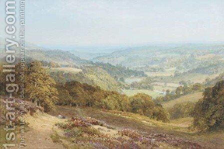 The Wye Valley by Harry Sutton Palmer - Reproduction Oil Painting