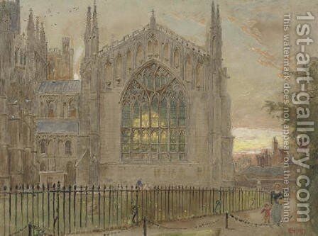 Ely Cathedral by Harry Goodwin - Reproduction Oil Painting