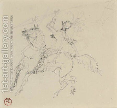 Chevalier by Toulouse-Lautrec - Reproduction Oil Painting