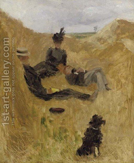 Partie de campagne 2 by Toulouse-Lautrec - Reproduction Oil Painting