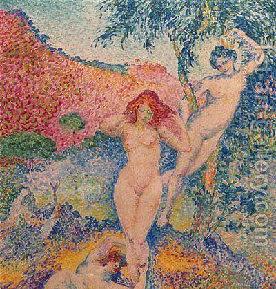 Napes by Henri Edmond Cross - Reproduction Oil Painting