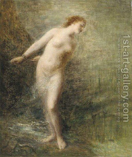 Andromeda by Ignace Henri Jean Fantin-Latour - Reproduction Oil Painting
