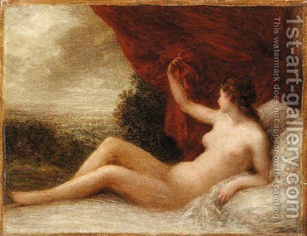 Le Rveil by Ignace Henri Jean Fantin-Latour - Reproduction Oil Painting