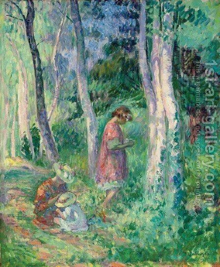 En forat, la cueillette by Henri Lebasque - Reproduction Oil Painting